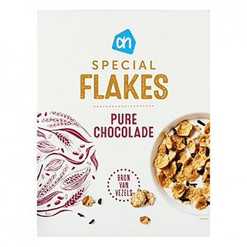 AH Special flakes pure chocolade 300g