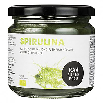 Raw organic food Spirulina powder 175g