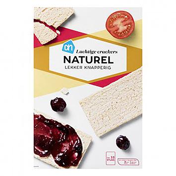 AH Luchtige crackers naturel 250g