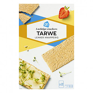 AH Light wheat crackers 250g