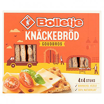 Bolletje Crispbread golden black 240g