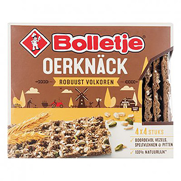 Bolletje Oerknäck robust whole grain 285g