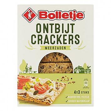 Bolletje Breakfast crackers, more seeds 270g