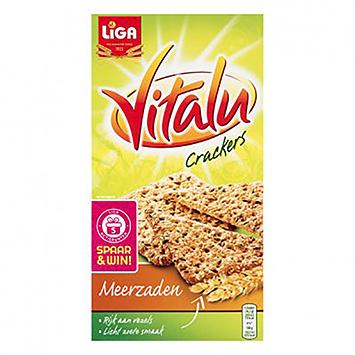 Liga Vitalu crackers meerzaden 200g
