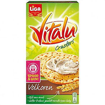 Liga Vitalu Cracker Vollkorn 200g
