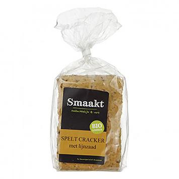 Smaakt biscuit à l'épeautre avec graines de lin 200g
