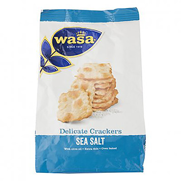 Wasa Delicate crackers sea salt 180g