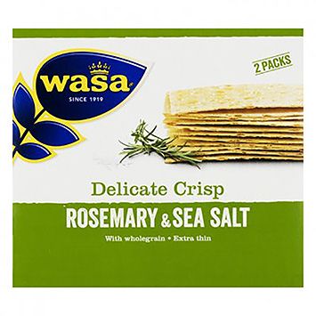 Wasa Delicate crisp rosemary and sea salt 190g