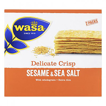 Wasa Delicate crisp sesame and sea salt 190g