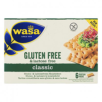 Wasa Gluten free and lactose free classic 240g