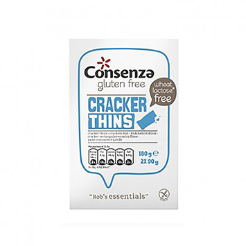 Consenza Cracker thins 180g