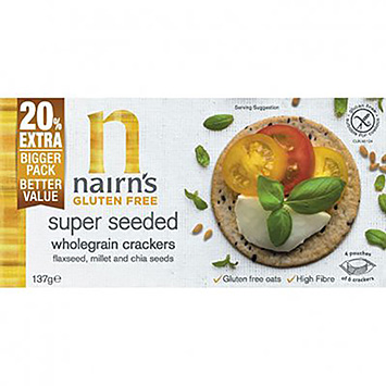 Nairn's Super Vollkorncracker 137g