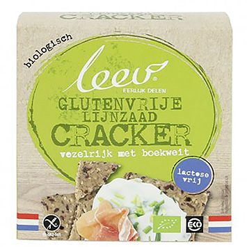 Leev Crackers boekweit 110g