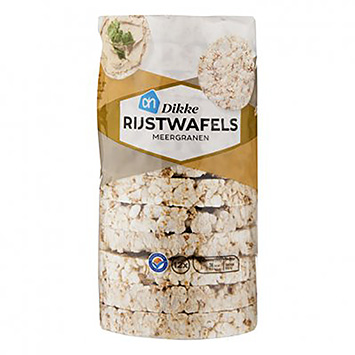 AH Thick rice cakes multigrain 120g