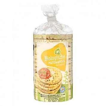 AH Organic corn waffles with sea salt 120g