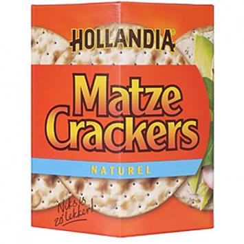 Hollandia Matze crackers naturel 100g