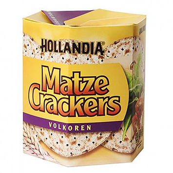 Hollandia Matze whole grain crackers 100g