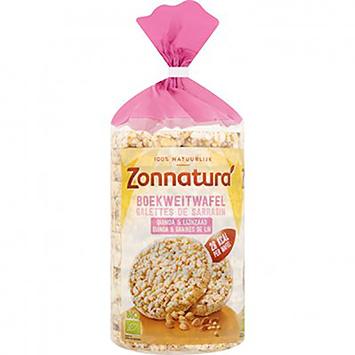 Zonnatura Gaufres au sarrasin, quinoa et graines de lin 100g