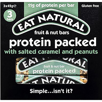 Eat natural Fruit and nut bars potein 135g
