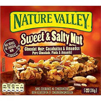 Nature Valley Süße und salzige reine Schokoladenerdnuss und Mandel 150g