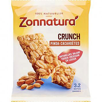 Zonnatura Crunch pinda 3x45g