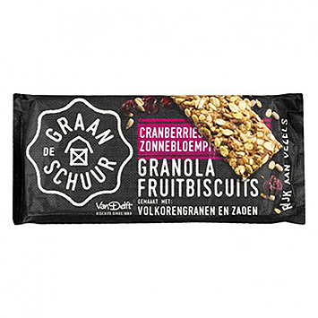 The granola Granola fruit biscuits cranberries sunflower seeds 218g