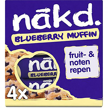 Nakd Blueberry muffin 140g