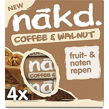 Nakd Coffee and walnut 140g
