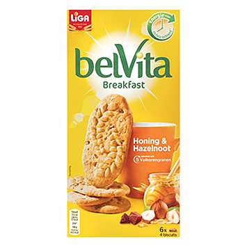 Liga Belvita breakfast honey and hazelnut 300g