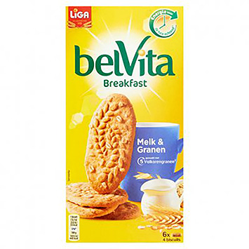 Liga Belvita breakfast melk en granen 300g