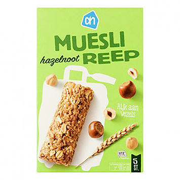 AH Muesli bar hazelnut 125g