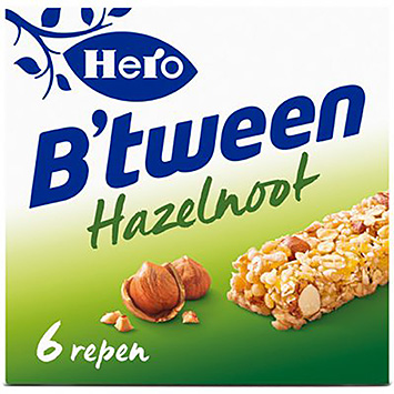 Hero B'tween hazelnoot 6x25g