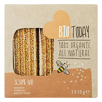BioToday Sesame bar 75g