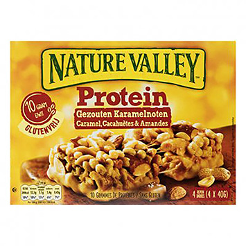 Nature valley Protein salted caramel nuts 4x40g