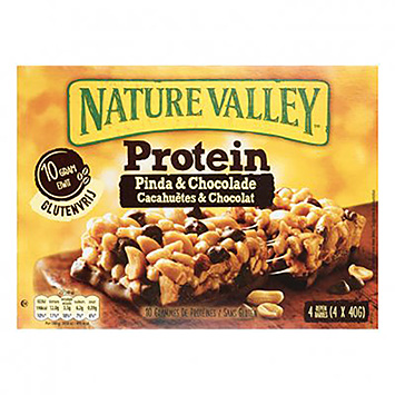Nature Valley Protein pinda en chocolade 4x40g 160g