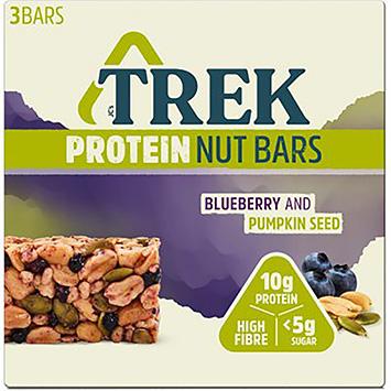 Barres de noix Trek Protein aux bleuets et aux graines de citrouille