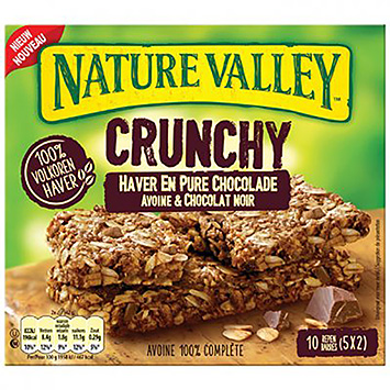 Nature valley Avoine croquante et chocolat noir 5x42g