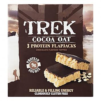 Trek Cacao Avoine 3 Protéines Flap Jacks 150g
