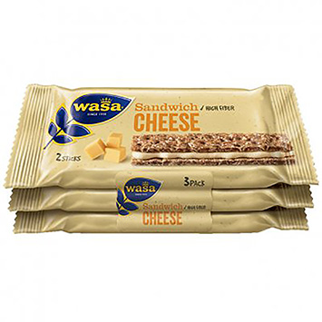 Wasa Sandwich cheese 96g