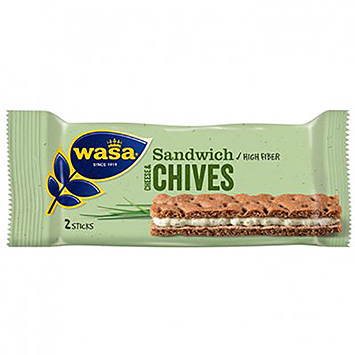 Wasa Sandwich cheese chives 111g