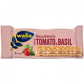 Wasa Sandwich cheese, tomato and basil 120g