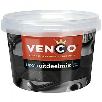 Venco Drop uitdeelmix zout zoet 600g