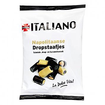 Italiano Barres de réglisse napolitaines 250g