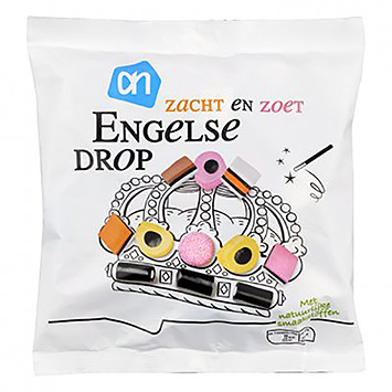 AH English licorice soft and sweet 600g