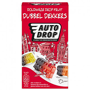 Autodrop Doddy licorice fruit double-deckers 280g