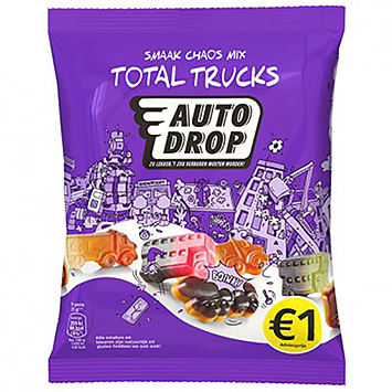 Autodrop Smaak chaos mix total trucks 160g