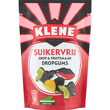 Klene Sugar-free licorice and fruit-flavored licorice gums 105g