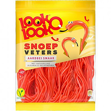 Look o look Candy laces strawberry flavor 195g