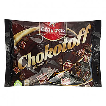 Côte d'Or Chokotoff puur 500g