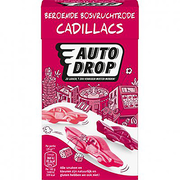 Autodrop Cadillac fruits rouges de la forêt 280g